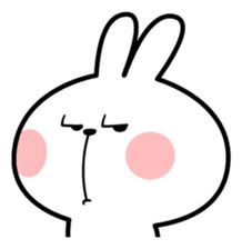 """Draw Facial Expression Spoiled Rabbit """"Facial expression"""" – LINE Stickers Cute Love Pictures, Cute Love Gif, Cute Love Memes, Cute Bear Drawings, Cute Love Cartoons, Meme Stickers, Cute Doodles, Cute Cartoon Wallpapers, Cute Icons"""