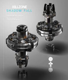 Ewoud Luppens: Killzone 4 Shadow Fall Concept Art