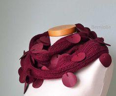 SHAYLA Crochet scarf pattern PDF by BernioliesDesigns on Etsy, $4.99
