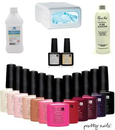 Shellac nail polish, great for nurses, it doesn't chip even with tons of hand washing/alcohol gel
