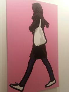 Julian Opie en ARCO 2014 Madrid. Galería Bob van Orsouw #ArteContemporáneo #ContemporaryArt #Art #Arte #Arterecord https://twitter.com/arterecord