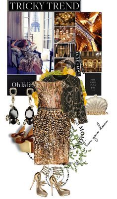 """Gold..."" by laonela ❤ liked on Polyvore"