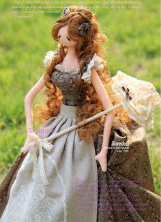 Подборка необыкновенно красивых корейских кукол - тряпиенс. Комментарии : LiveInternet - Российский Сервис Онлайн-Дневников