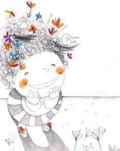 felicidad!, ilustración de Francesca Quatraro