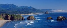 Oregon coast- take a trip down this scenic hwy- breathtaking & one of the most beautiful places I've seen