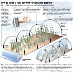 row covers for vegetables | Eliot Coleman, Maine's winter-harvest farmer, gives tips on extending ...