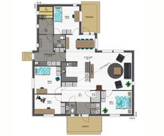 Future House, Sweet Home, Floor Plans, How To Plan, Sims, House Ideas, Houses, Architecture, Design