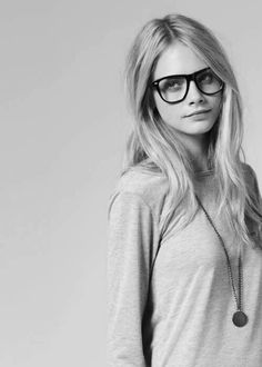 love the hair and glasses
