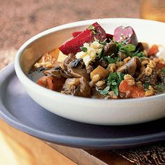 You can use barley groats rather than pearl barley in this stew to give the dish a little more texture. Substitute rutabagas, parsnips, or other root vegetables of your choice for the carrots and turnips. View Recipe:Beef, Beer, and Barley Stew
