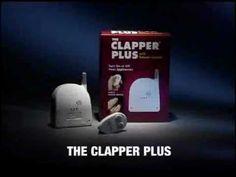 Clapper Plus commercial