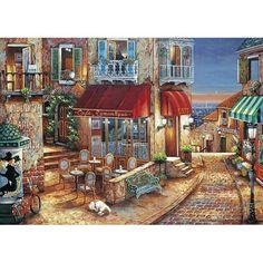 """Mediterranean Evening""  John Patrick O'Brien  ©"