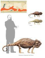 Colossal chameleon by Hyrotrioskjan