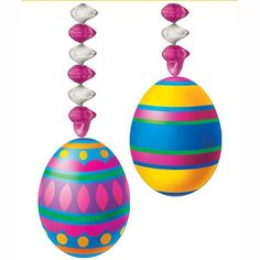 Easter Egg Danglers Case Pack 12