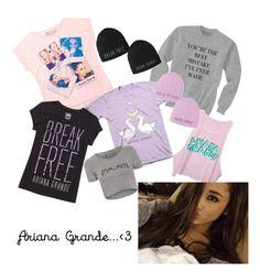 Ariana Grande Merchandise by princessalexa23  on polyvore ❣