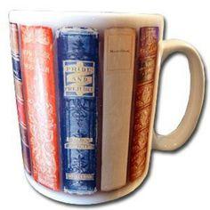 Jane Austen book mug
