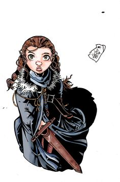 Arya Stark - Game of Thrones - Adrián Gutiérrez
