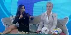 Na Xuxa, Anitta diz que ia dormir se tivesse na mesma cama que Neymar #Anitta…