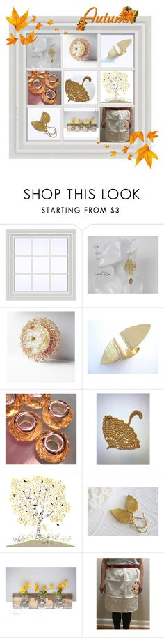 """""""The Golden Hues of Fall"""" by cozeequilts on Polyvore featuring rustic"""