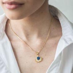 Sun Chain Gold Necklace, Sun, Chain, Jewelry, Jewellery Making, Jewels, Jewlery, Gold Necklaces, Jewerly