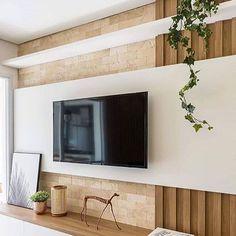 Best Home & Kitchen Tv Unit Decor, Tv Wall Decor, Home Room Design, Home Interior Design, House Design, Living Room Decor, Bedroom Decor, Living Room Tv Unit Designs, Tv Wall Design
