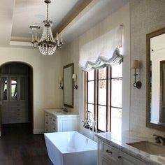 All bathrooms should be this beautiful  #mckeeandco by mckeeandcompany Bathroom remodeling ideas.
