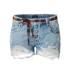 Jeansshorts von Pepe Jeans im Used-Look.