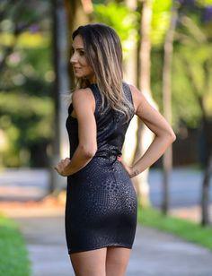 Look do Dia – Vestido de Couro por Lalá Noleto | blog Lalá Noleto em março 10, 2014