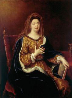 Madame de Maintenon, maîtresse puis épouse du roi à partir de 1683