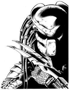 Predator by Aaron Sowd Comic Art  Auction your comics on http://www.comicbazaar.co.uk