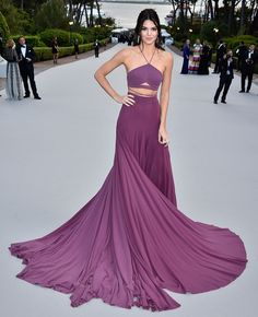 Kendall Jenner's Midriff Stole the Show at Cannes - SELF