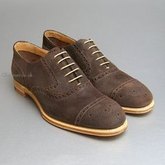 Sidney Brown Split Coupe Mens Brogue by Cheaney Shoes