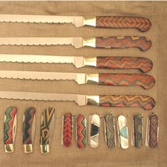 Hand crafted Pocket Knives.