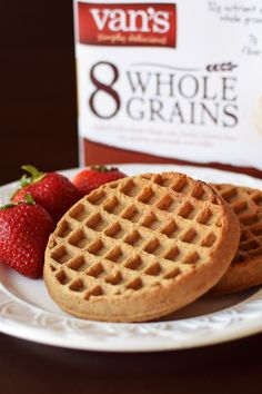 Van's Frozen Waffles (Review) - Whole Grain Dairy-Free Varieties (8 Whole Grains, Power Grains and Organic)