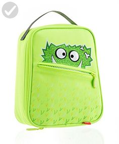 Zipit Talking Monstar Lunch Bag, Bright Lime (ZTLB-AR-GZZ) - Toys for little kids (*Amazon Partner-Link)