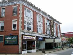 Colonial Theater - Laconia, NH - At this turn-of-the-century theater, reports have come from witnesses who have heard disembodied voices and the sound of people walking throughout the building.