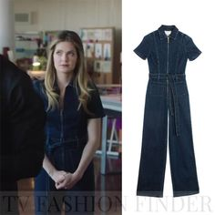 Meghann Fahy as Sutton Brady in denim jumpsuit The Bold Type season 2 episode 10 Fashion Tv, Daily Fashion, Fashion Outfits, Overalls Fashion, Denim Outfit, Jumpsuit Outfit, Denim Jumpsuit, Modest Outfits, Cool Outfits