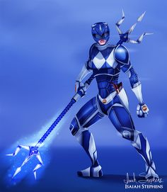 Blue Ranger by Isaiah Stephens