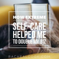 As entrepreneurs, we hear all the time about building a business we love... But what about living a life we live while we're building this dream biz?  Today I'm kicking off the Business That Loves You Back Blog Tour by sharing how personal and professional self-care have helped me to double my biz each year for the past 5 years!