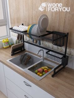 50 Best Small Kitchen Storage Ideas For Awesome Kitchen Organization 02 Diy Kitchen Storage, Home Decor Kitchen, Kitchen Organization, Kitchen Furniture, Kitchen Interior, Home Kitchens, Home Furniture, Furniture Design, Organization Ideas