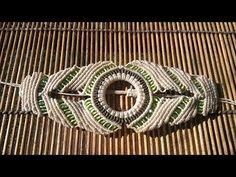 Pulsera macramé verde - YouTube