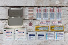 5 DIY Mini Emergency Kits  - One Good Thing by Jillee