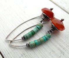Desert Bloom Earrings by Lost Sparrow Jewelry