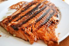 Grilled Salmon w Soy Brown Sugar Marinade - another pin suggested wrapping in foil and baking 425* 15 min instead of grilling but that link lacked marinade recipe. Used Talapia will add more garlic in the packet next time - delicious, moist, & easy!