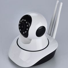 56.68$  Buy here - http://ali9lh.worldwells.pw/go.php?t=32680154923 - I MP WIFI Alarm IP Camera Double Antena IR Night Vision