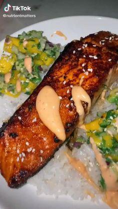 Salmon Recipes, Fish Recipes, Seafood Recipes, Vegetarian Recipes, Healthy Recipes, Chicken Recipes, Keto Chicken, Dinner Recipes, Healthy Cooking