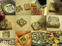 how to make scrabble tile pendants