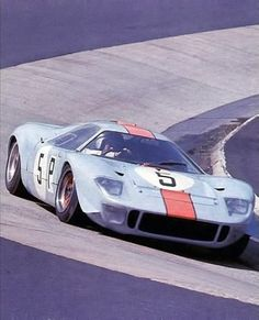 Wyer-Gulf Mirage Ford GT40 at the Nurburgring, 1967 - photo Dan Samson
