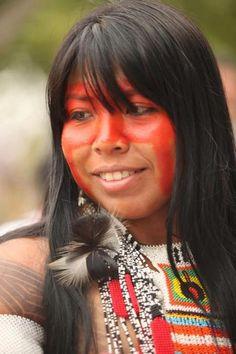 Hija de Jefe Megaron  Bosque Amazonas  Cronicas de la Tierra del Mal  http://www.facebook.com/pages/Cr%C3%B3nicas-de-la-Tierra-sin-Mal/179465888803347