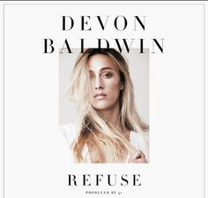 "New Music: Devon Baldwin | Refuse [Audio]- http://getmybuzzup.com/wp-content/uploads/2014/10/Devon-Baldwin-Refuse.jpg- http://getmybuzzup.com/devon-baldwin-refuse/- Devon Baldwin – Refuse Songstress Devon Baldwin drops a new record titled ""Refuse"" off her upcoming 'Lungs' EP due out soon. Enjoy this audio stream below after the jump. Follow me: Getmybuzzup on Twitter 