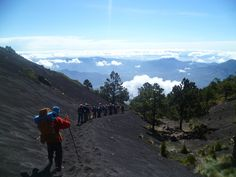 Hiking Mount Acetenango, Guatemala